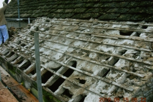 Repairs to barn roofs, roofing company near Cirencester