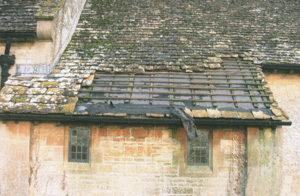 Patch repair to church roof Gloucestershire and Wiltshire areas