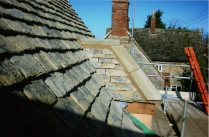 Natural stone tile appearance, concrete tile roofers Swindon