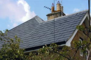 Slate tiled roofers Swindon company, slate tile roofers near Cirencester Glos