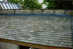 A new roof using Winchcombe roof tiles